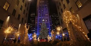 lighting of rockefeller center christmas tree christmas lights