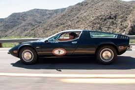 maserati merak spyder the cars copperstate 1000 road rally