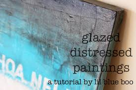 Barn Wood Paintings Glazed Distressed Paintings A Tutorial