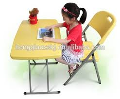 kids fold up table and chairs kids plastic desk and chair set foldable writing desk height