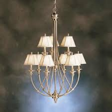 Kichler Lighting Lights Kichler Lighting 1889 Bab Alexandria Collection Nine Light Hanging