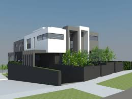 2 Story Modern House Plans Modern Duplex Designs Modern Design Ideas