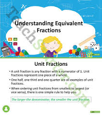 operations with fractions unit plan year 5 and year 6 unit plan