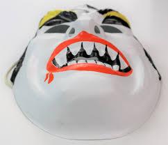 vintage dracula halloween mask horror monster vampire the wild