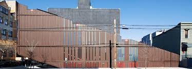 lot ek u0027s carroll house in brooklyn is made from 21 shipping containers