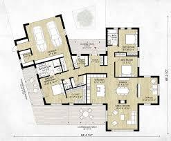 modern floorplans modern house plans planinar info