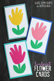handprint spring crafts for kids building our story