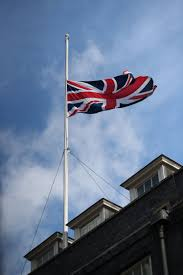 Flying The Flag At Half Staff Flags Fly At Half Mast After London Bridge Terror Attack Metro News