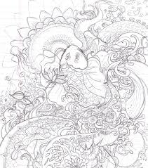 printable koi fish coloring pages free coloring pages kids