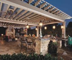 marvelous outdoor kitchen lighting fixtures in interior design