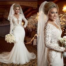 mermaid style wedding dress 2017 wedding dresses mermaid style lace luxury pearls trumpet