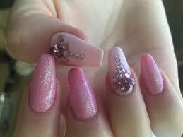 mermaid glitter design on gel nails youtube