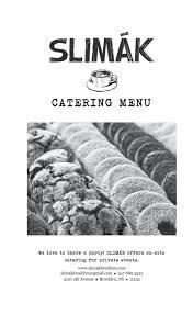 catering u2014 slimák