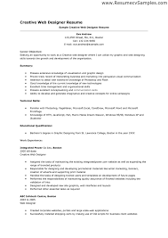 Graphic Design Resume Web Design Resume Examples Resume For Your Job Application