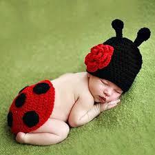 baby props aliexpress buy crochet ladybug set baby photography