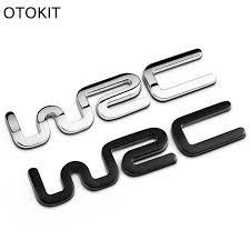 toyota yaris emblem 2017 alloy wrc 3d metal auto car badge emblem sticker for toyota