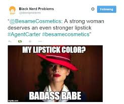 Red Lipstick Memes - lips like peggy carter a nerd girl s adventure with lipstick