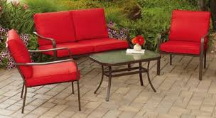 Mainstays Patio Furniture by Metal Conversation Patio Furniture Outdoor Room Ideas