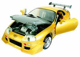 yellow toyota roadbot road bot 1 18 scale toyota supra yellow buy online in