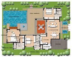 Popular Plantas de casas com piscina: 32 modelos para construção @RB92