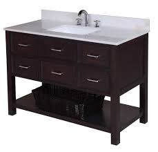 kitchen bath collection new hampshire 48 inch vanity white chocolate u2013 kitchenbathcollection