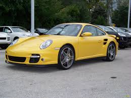 yellow porsche 911 2007 speed yellow porsche 911 turbo coupe 276243 gtcarlot com