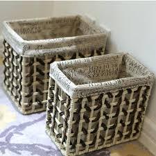 Decorative Baskets For Shelves The Bedroom Storage Baskets For