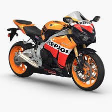 models of cbr 3d model honda cbr fireblade cgtrader