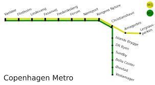 Copenhagen Metro Map by File Copenhagen Metro Svg Wikimedia Commons