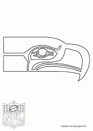 proficiency seahawks seattle seahawks logo nfl coloring pages