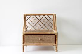 Bedside Table Ls Santa Bedside Naturally Rattan And Wicker Furniture