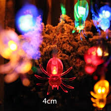 halloween party decoration aliexpress com buy new 10led spider string lights for halloween