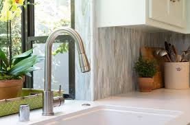 aquabrass pulmi kitchen faucet in design by charmean neithart