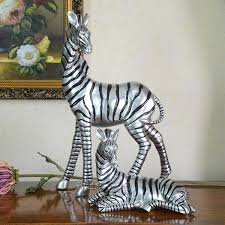 2017 two living room tv cabinet zebra ornaments home decor