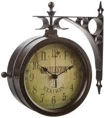 Pottery Barn Outdoor Clock Amazon Com Outdoor Clocks Patio Lawn U0026 Garden