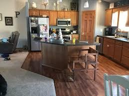 farmhouse kitchen with oak cabinets golden oak kitchen transformation center of design