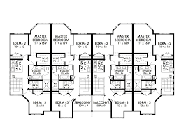 multi family house plans home design