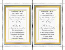 Do It Yourself Wedding Invitations Do It Yourself Wedding Invitations