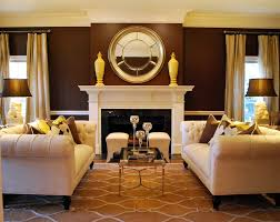 modern chesterfield sofa living room traditional with asian