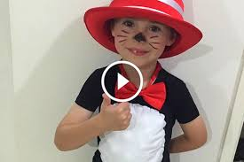 cat in the hat costume simple and easy diy cat in the hat costume stay at home