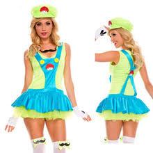 Halloween Costumes Luigi Compare Prices Mario Halloween Costumes Women