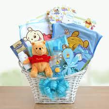 baby basket gifts winnie the pooh baby boy gift basket hayneedle