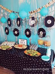 zebra print baby shower1 year birthday party locations then i took some records and made printed new labels for them