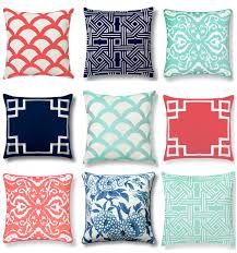 Mint And Coral Home Decor by Olive Lane C Wonder Pillows