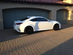 lexus rc 300 white ultra white with matte black wheels pics please clublexus