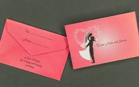 wedding wishes envelope information packaging mini wedding gift card envelope