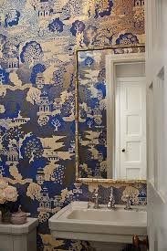 Wallpaper Bathroom Ideas Fish Wallpaper For Bathroom Home Design Ideas And Pictures