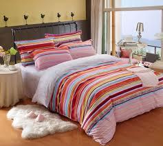Cute Bedroom Sets For Girls Kids Bedding Sets For Girls Bright Color Stripe Kids Bedding Sets
