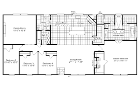 4 Bedroom 2 Bath Mobile Homes View The Magnum Home 76 Floor Plan For A 2584 Sq Ft Palm Harbor