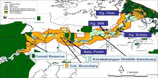 Irrawaddy River Map Abai Diversity Of Forest Wildlife Habitat And Longest River In Sabah